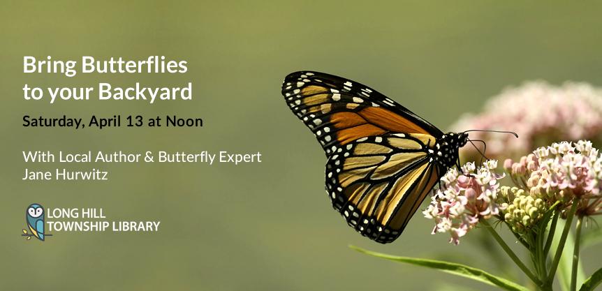 Bring Butterflies  to your Backyard