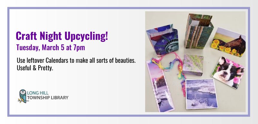 Craft Night Upcycling!