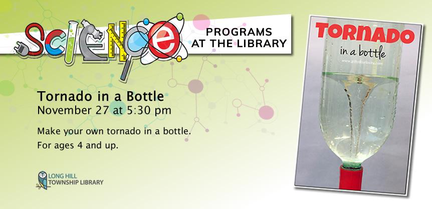 Science Program: Tornado in a Bottle