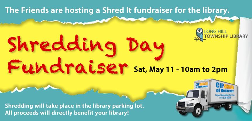 Shredding Day – Sat, May 11
