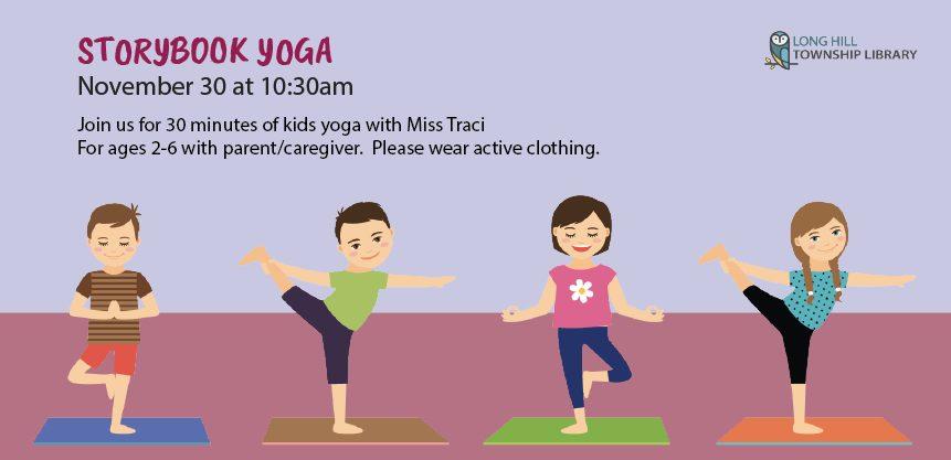 Storybook Yoga on Friday